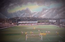 Lincoln City v Bradford City 20'' x 30'' box canvas print